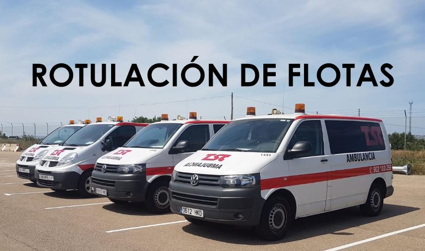 flotas ambulancias